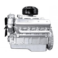 Двигатель ЯМЗ-238М2-12 (УралАЗ) без КПП и сц. (240 л.с.) АВТОДИЗЕЛЬ