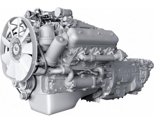 Двигатель ЯМЗ-6562.10-осн. (МАЗ) с КПП и сц. (250 л.с.) АВТОДИЗЕЛЬ