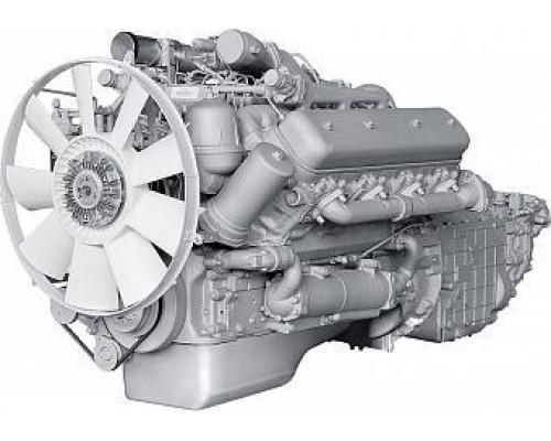 Двигатель ЯМЗ-7511.10-1 (МАЗ) с КПП и сц. (400 л.с.) АВТОДИЗЕЛЬ