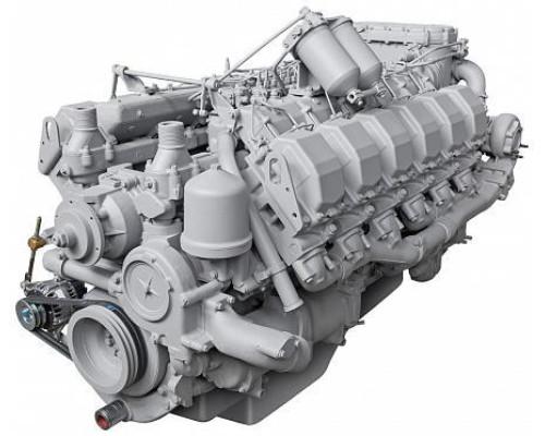 Двигатель ЯМЗ-8401.10-14 (КЗКТ) без КПП и сц. АВТОДИЗЕЛЬ