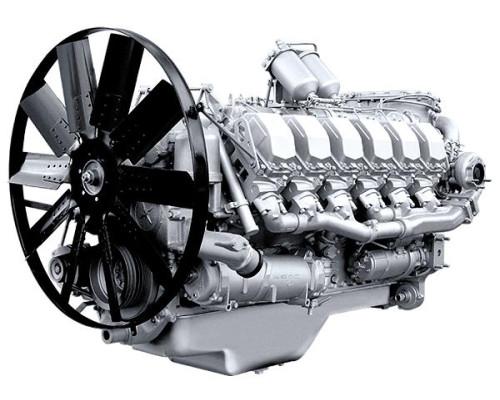 Двигатель ЯМЗ-8503.10-01 (Электроагрегаты) без КПП и сц. (490 л.с.) АВТОДИЗЕЛЬ