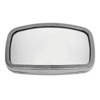 Зеркало боковое КАМАЗ,МАЗ парковочное сферическое бокового обзора (бордюрное) 270х160 КРУГОВОЙ ОБЗОР