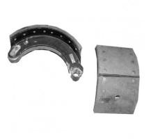 Колодки тормозные МАЗ-9758,93301 полуприцепа (200мм, внутренние с пружиной) (1шт.) ТАИМ