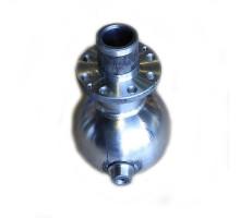 Опора шаровая УРАЛ-4320,5557 (-03) кулака поворотного под 8 отверстий (АО АЗ УРАЛ)