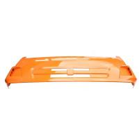 Панель КАМАЗ облицовки радиатора интегральная (рестайлинг) (оранжевый) ТЕХНОТРОН