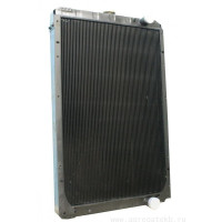 Радиатор УРАЛ-6370 медный 4-х рядный дв.ЯМЗ 652-301 ШААЗ