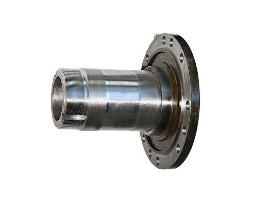 Цапфа УРАЛ кулака поворотного (12 крепежных отверстий диаметром 16мм) СБ (с 2003г.) (АО АЗ УРАЛ)