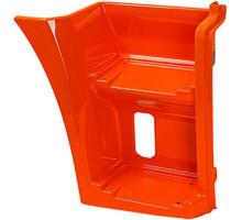 Щиток КАМАЗ-65115 подножки правый (рестайлинг) (оранжевый) ТЕХНОТРОН