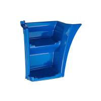 Щиток КАМАЗ-ЕВРО подножки левый (рестайлинг) (синий) ОАО РИАТ