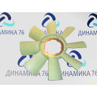 Крыльчатка  вентилятора ЯМЗ-651.10 (нейлон)