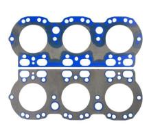 Прокладка головки блока ЯМЗ-236НЕ,БЕ,НЕ2,БЕ2,656 металлическая с РТИ в сборе (Синяя)
