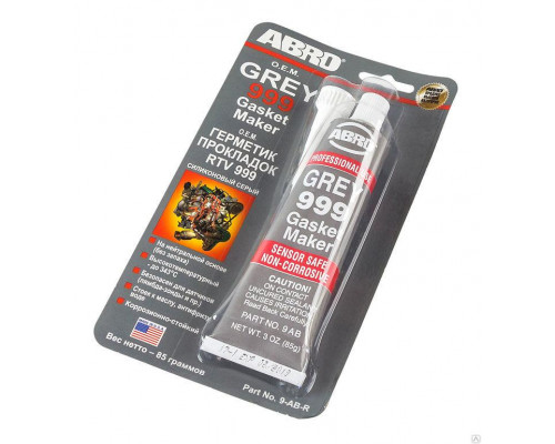 Герметик прокладок серый 85г ОЕМ ABRO