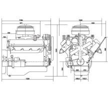 Двигатель ЯМЗ-238М2-45 компл. (Электроагрегаты) АВТОДИЗЕЛЬ