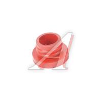 Втулка КАМАЗ уплотнительной головки цилиндра красная