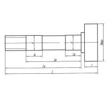 Кулак разжимной МАЗ колодок тормозных передних правый L=271/227 ТАИМ