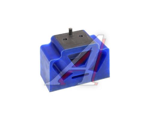 Подушка МАЗ двигателя синий силикон в сборе