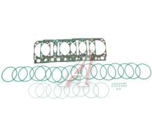 Ремкомплект КАМАЗ-ЕВРО двигателя РТИ силикон (4 поз./6 дет. на 1 цилиндр)