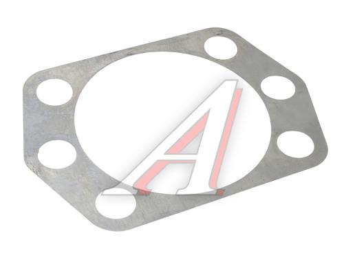 Прокладка УРАЛ регулировочная рычага кулака поворотного 0.22мм (АО АЗ УРАЛ)