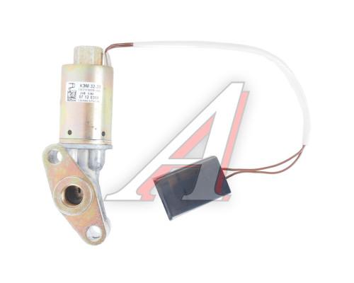 Клапан электромагнитный ЯМЗ привода вентилятора 24V (без ручного дублера, с кольцом) РОДИНА