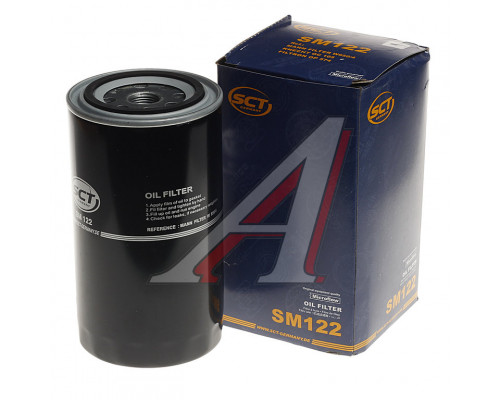 Фильтр масляный ЗИЛ-5301,МАЗ-4370 (дв.ММЗ-260) с гайкой SCT MANNOL
